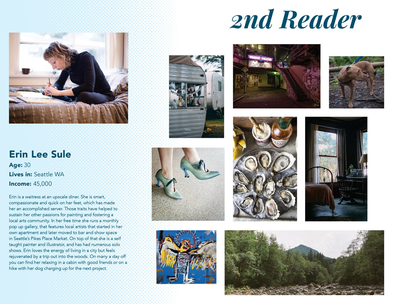 Magazine reader persona