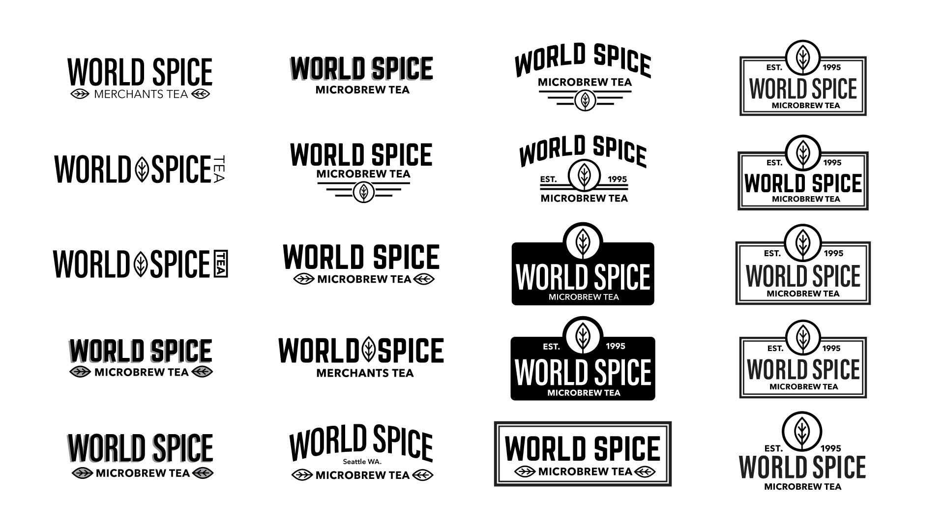 tea logos
