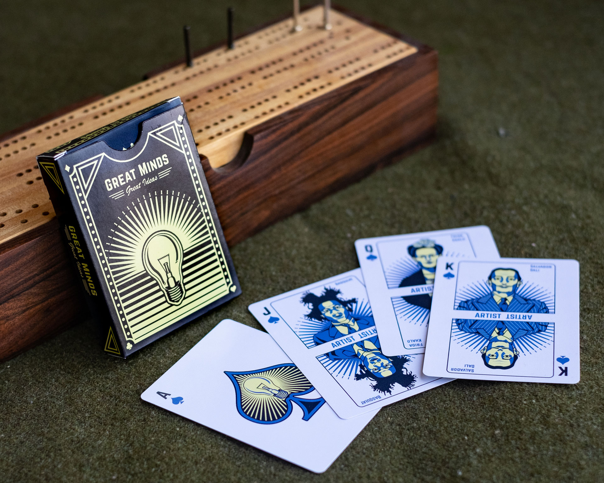 Great Minds Playing Cards